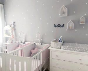 Vinilos para pared para bebé y murales infantiles 1
